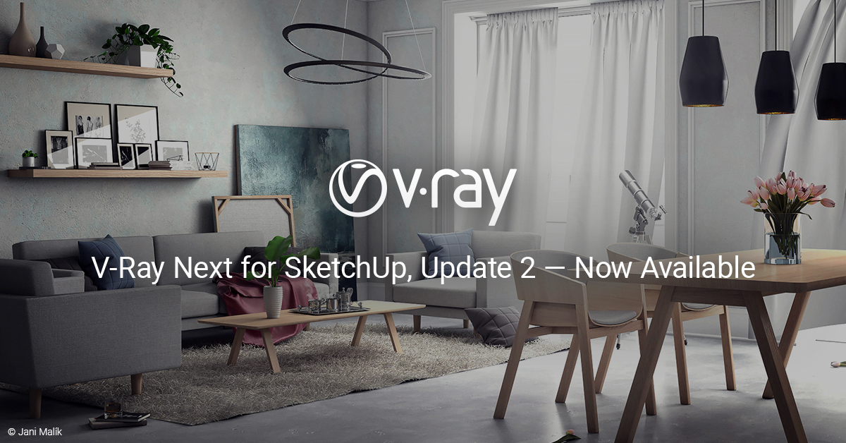 What's New in V-Ray Next for SketchUp