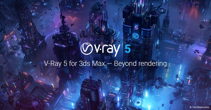 V-Ray 5 for 3ds Max Available Now!